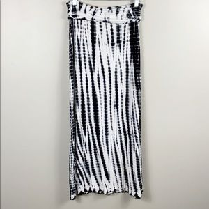 Design History Tie dye maxi skirt size m